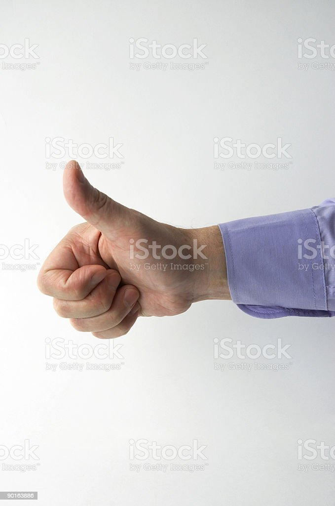 businessman hand royalty-free stock photo
