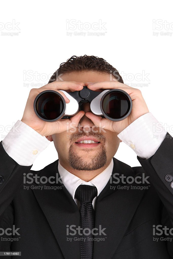 Businessman Looking ! royalty-free stock photo