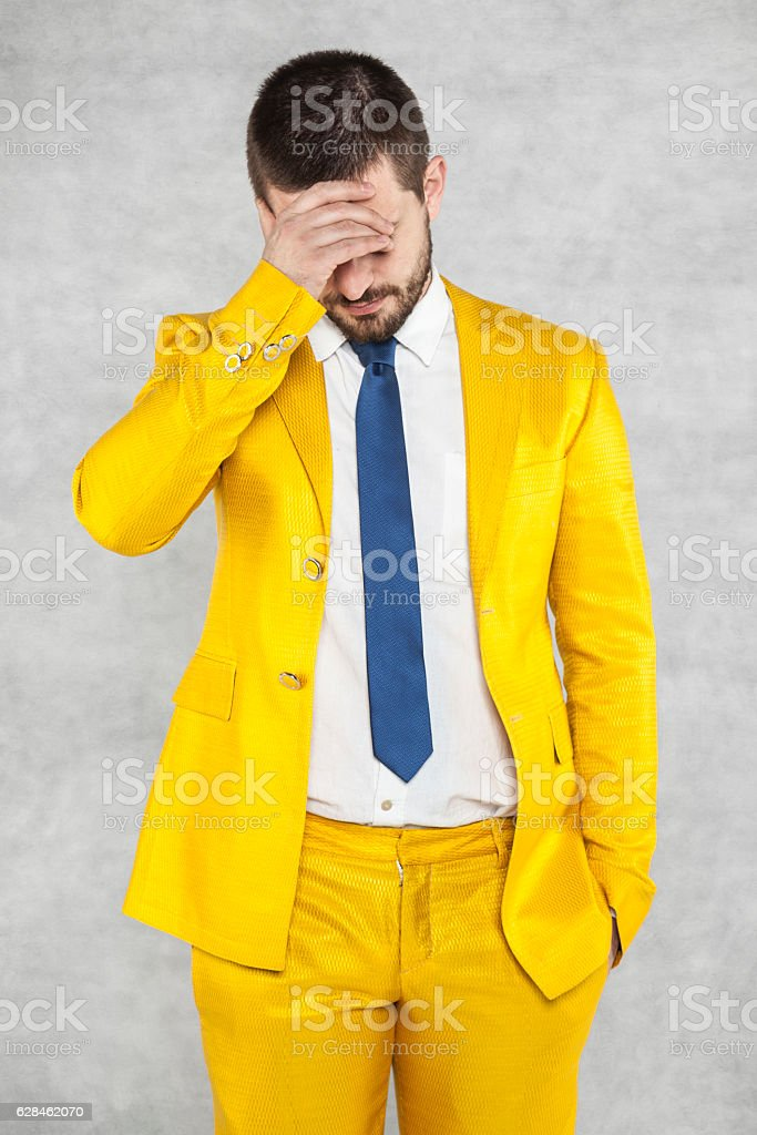 businessman loss his job stock photo