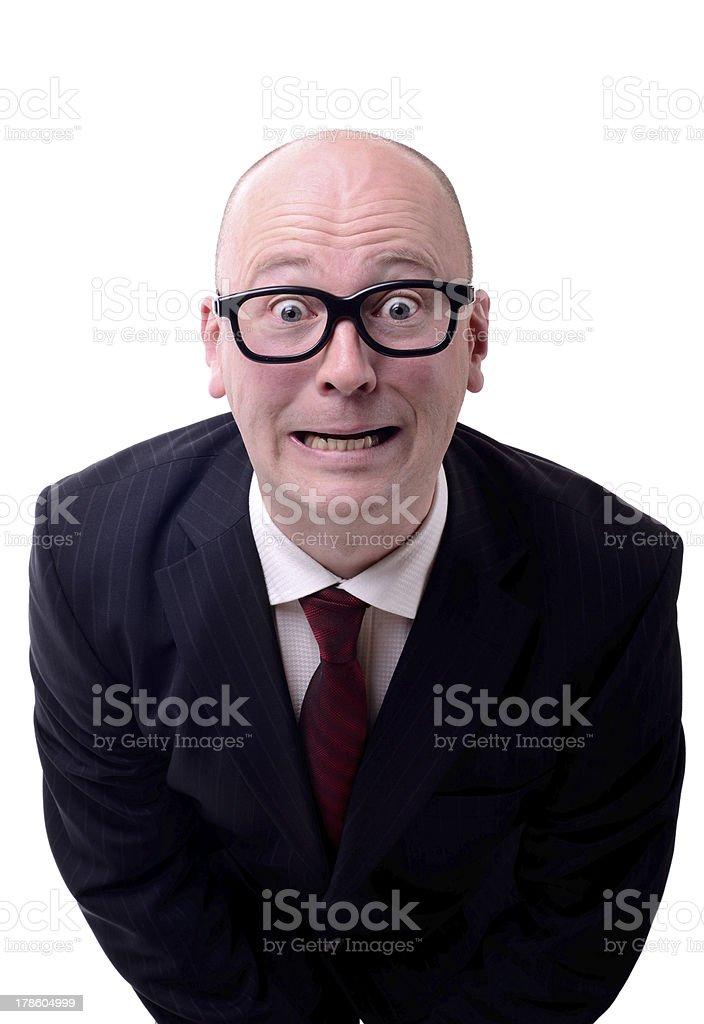 businessman mistake stock photo