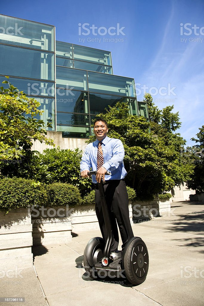 Businessman on The Move royalty-free stock photo