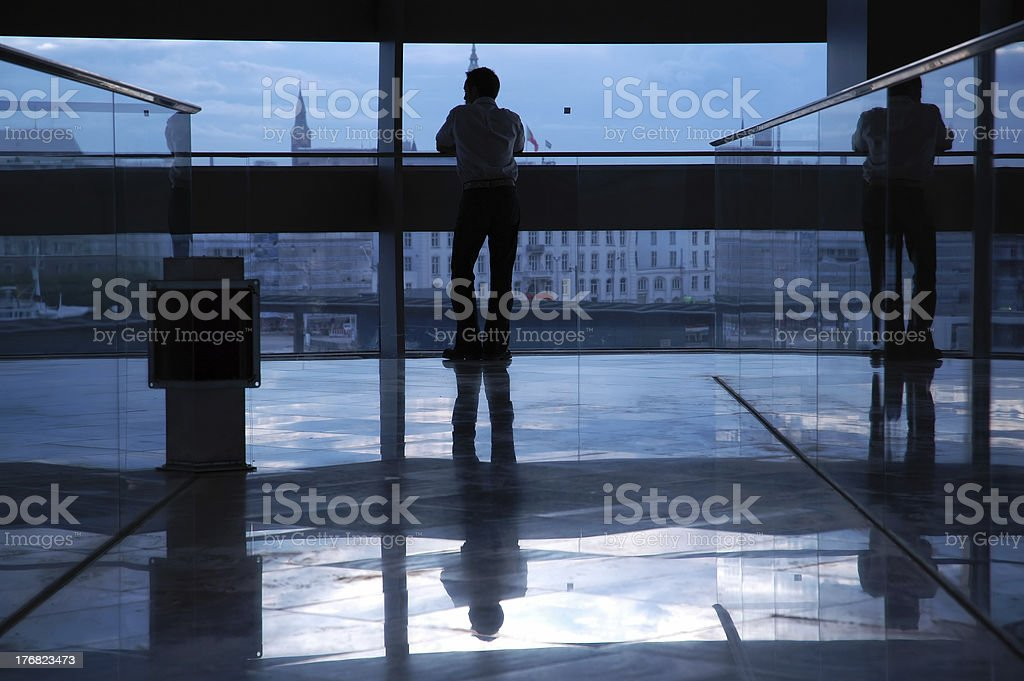Businessman Overview stock photo