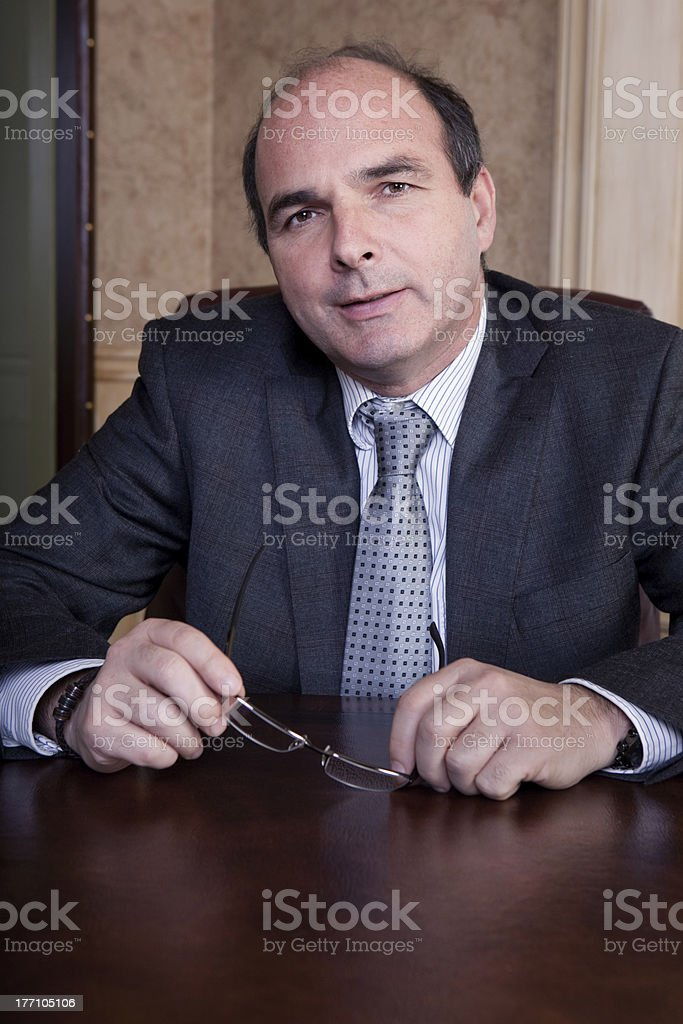 Businessman portrait royalty-free stock photo