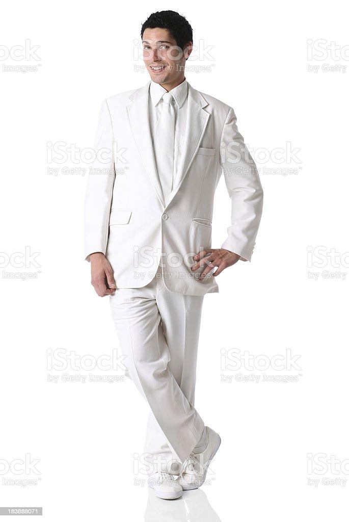 Businessman posing stock photo