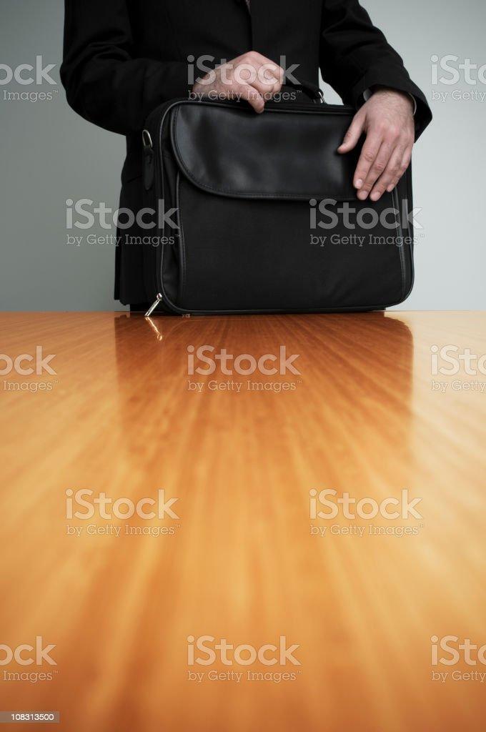 Businessman prepare meeting royalty-free stock photo