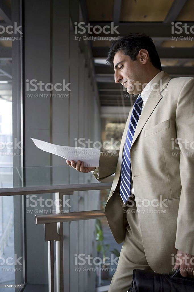 businessman preparing royalty-free stock photo