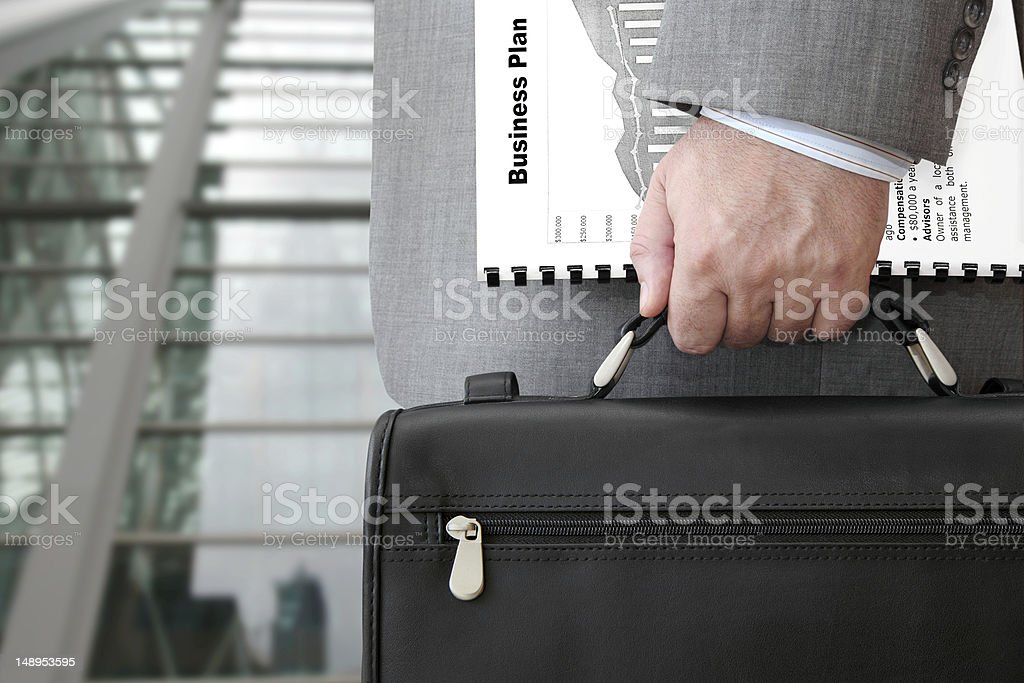 Businessman Ready for Meeting royalty-free stock photo