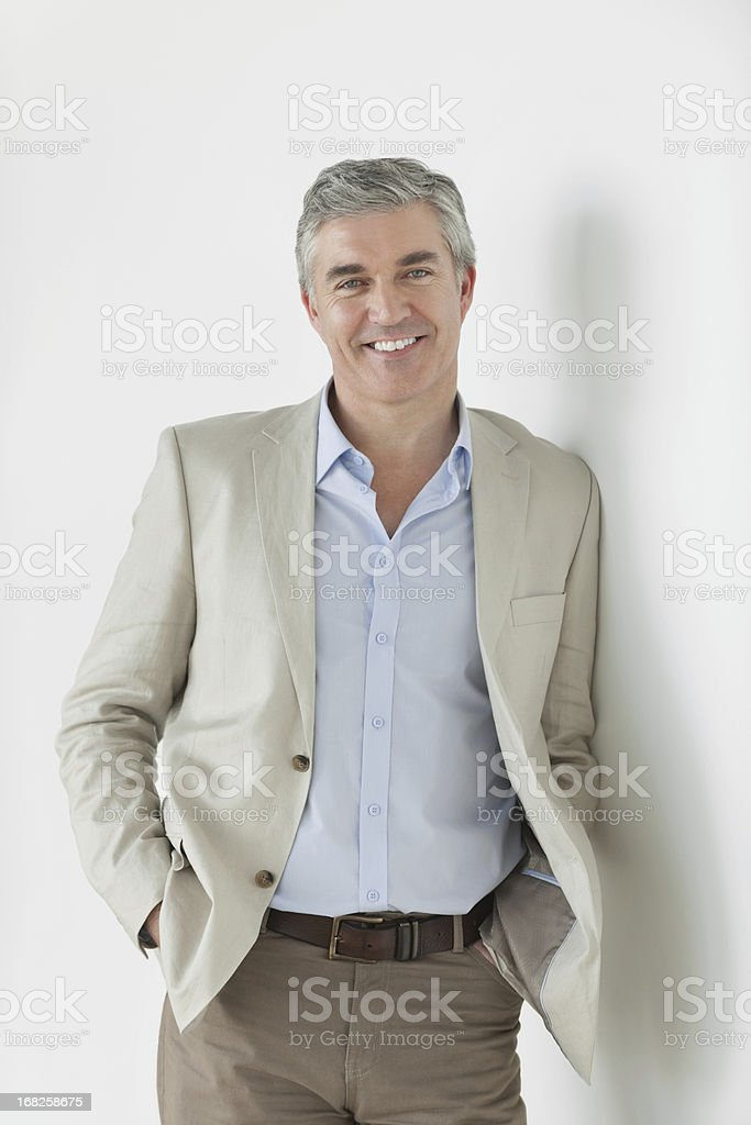 Businessman - Relaxed and Confident stock photo
