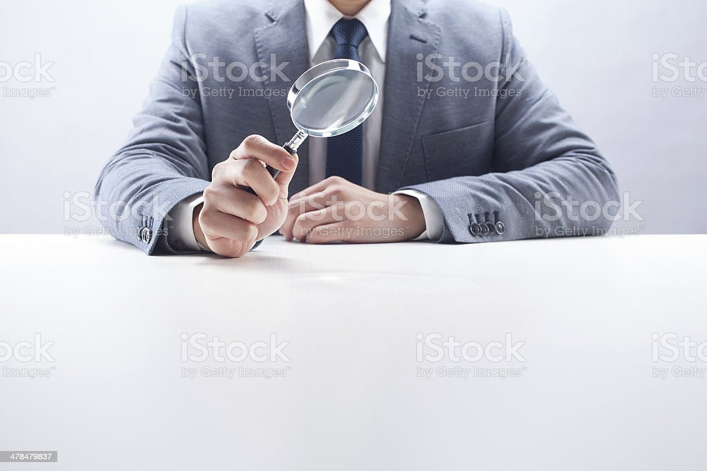 Businessman Searching stock photo
