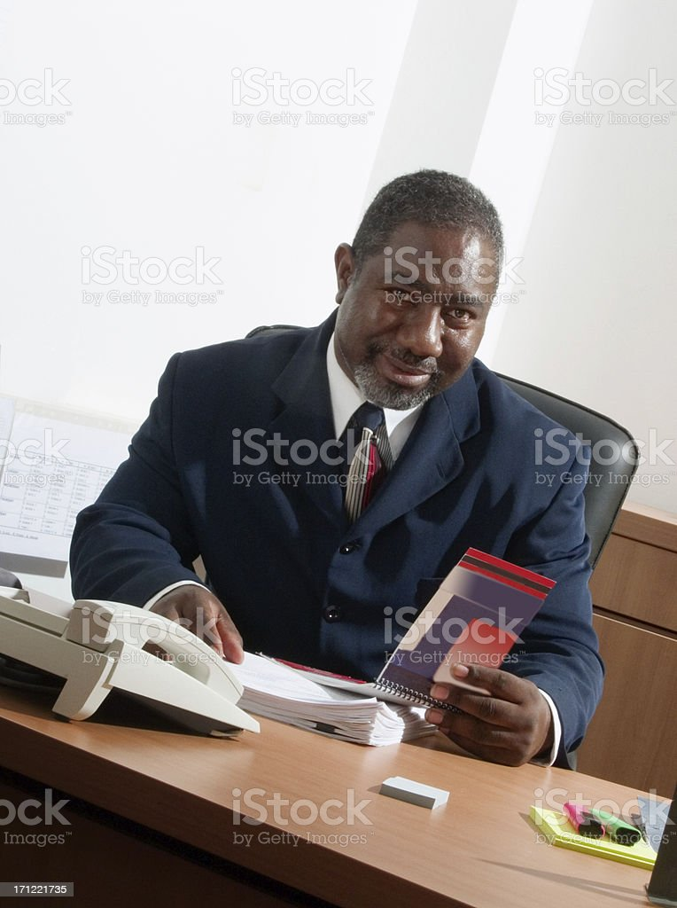 Businessman Series royalty-free stock photo