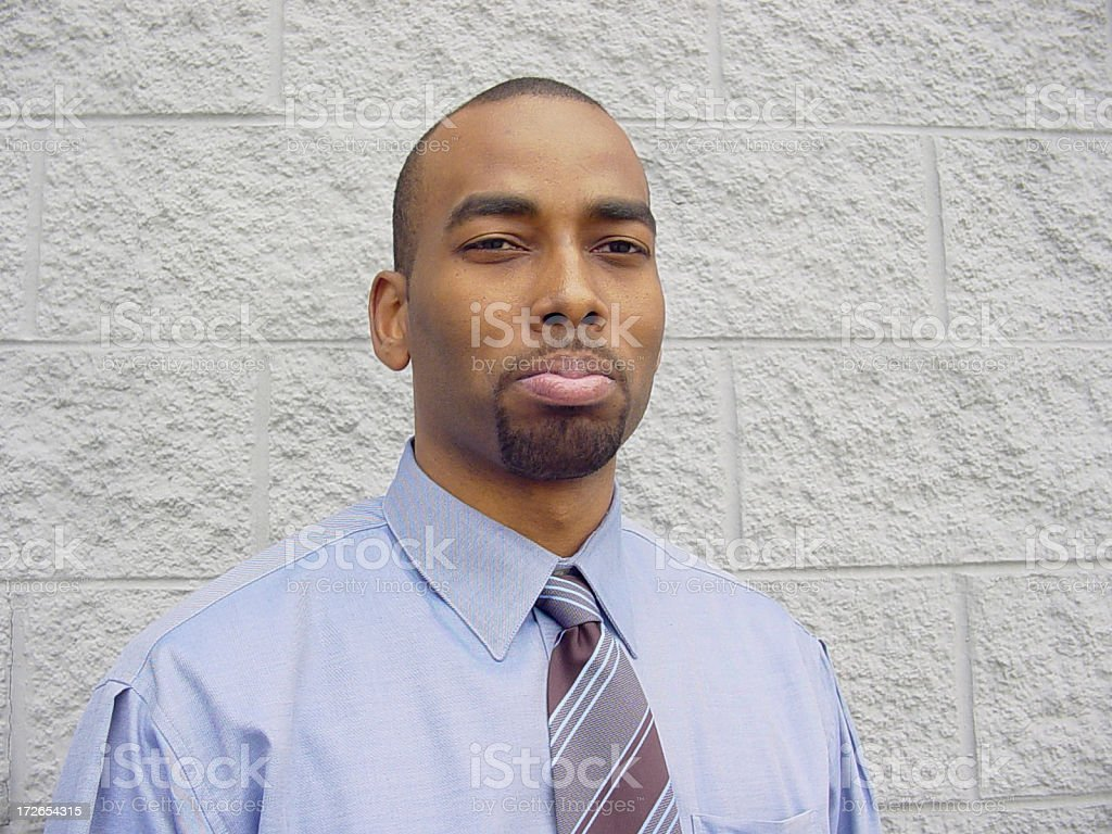 Businessman Serious royalty-free stock photo