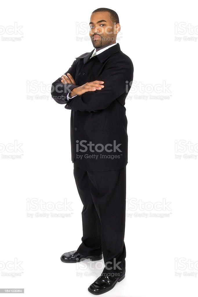 Businessman Standing Tall stock photo