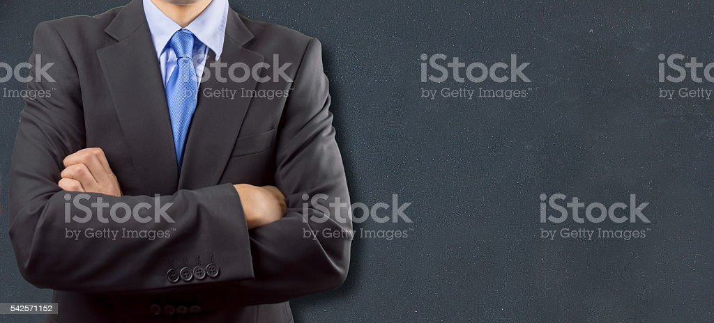 businessman to help you stock photo