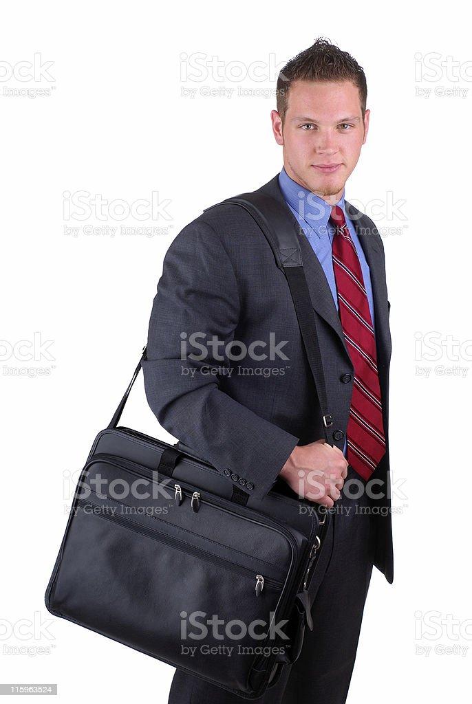 Businessman Traveling royalty-free stock photo