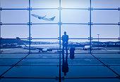 Businessman Waiting Departure