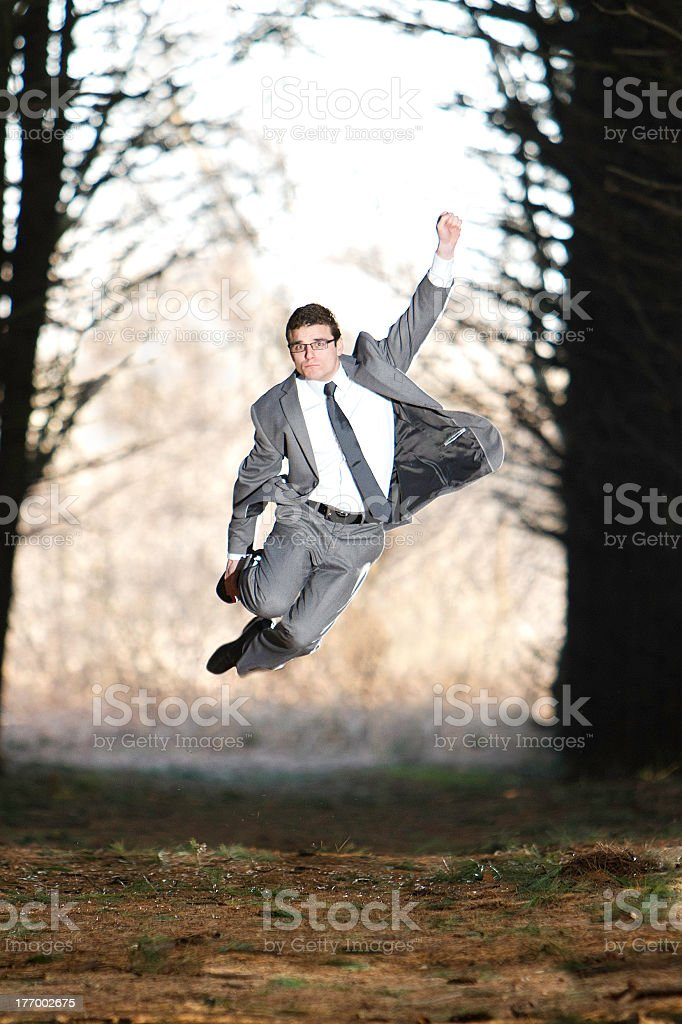 Businessman with Determination royalty-free stock photo