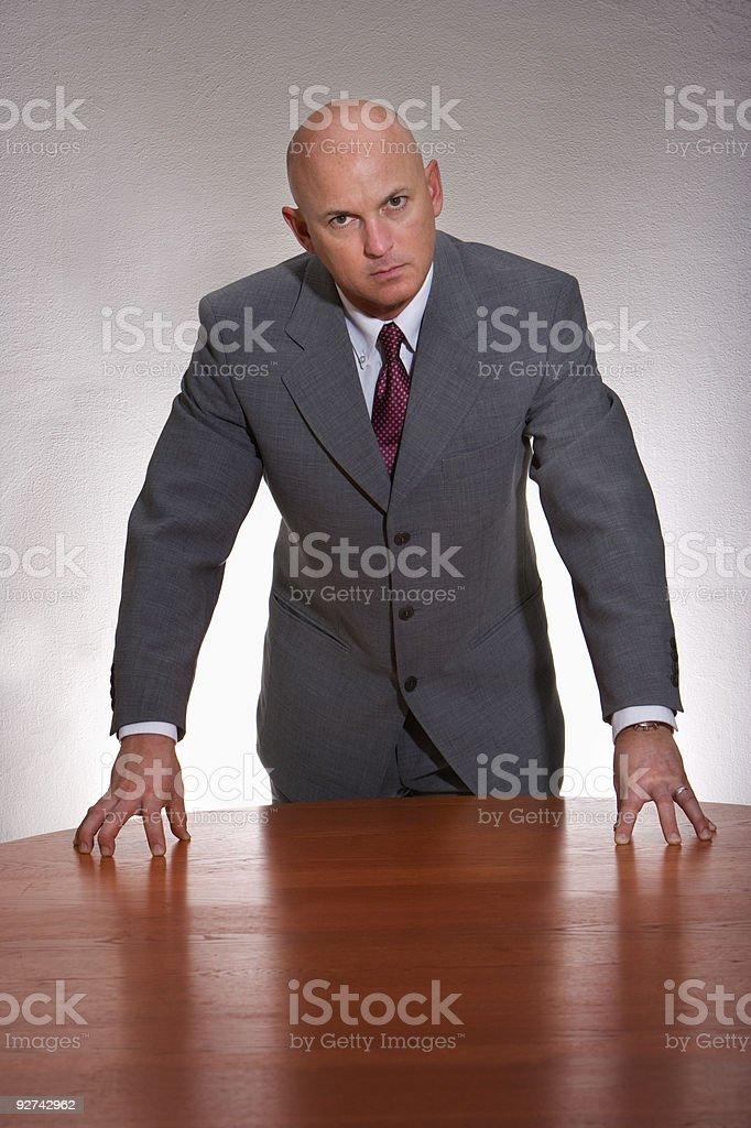Businessman/CEO royalty-free stock photo
