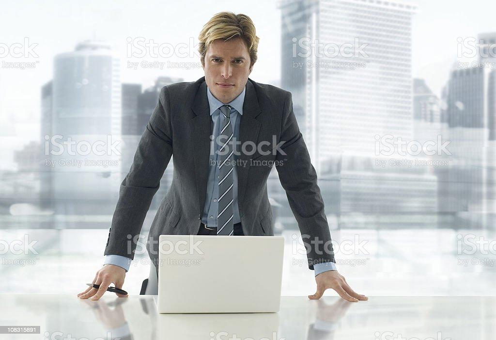 Businessmann royalty-free stock photo