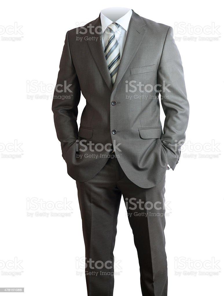 Businessmans body stock photo