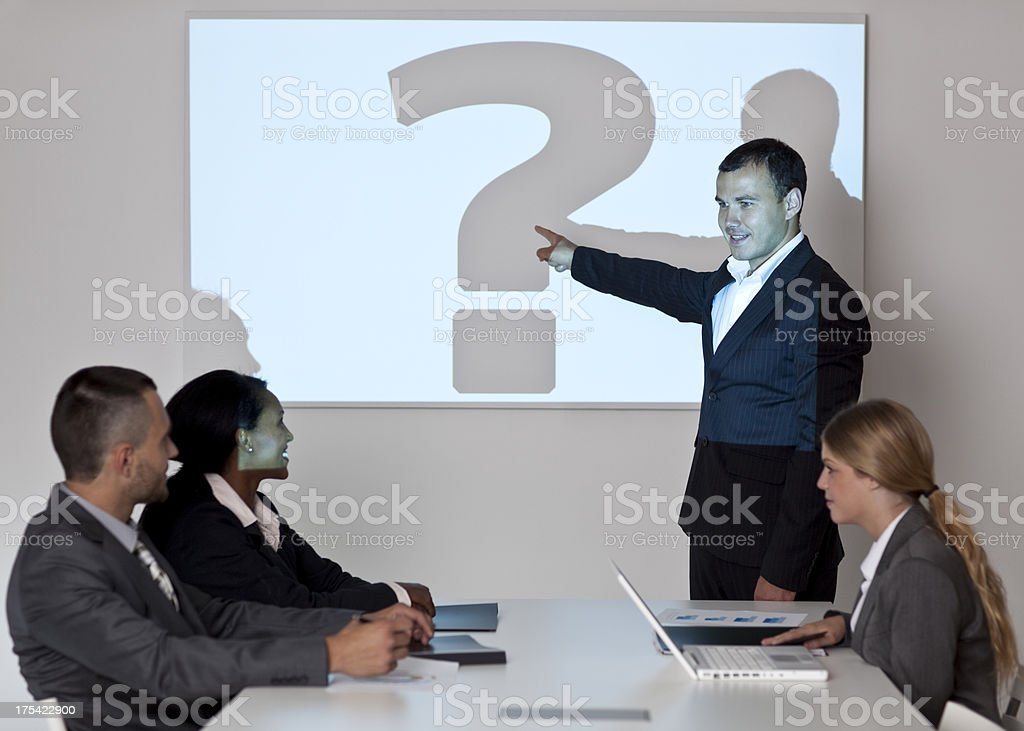 Businessmeeting. royalty-free stock photo