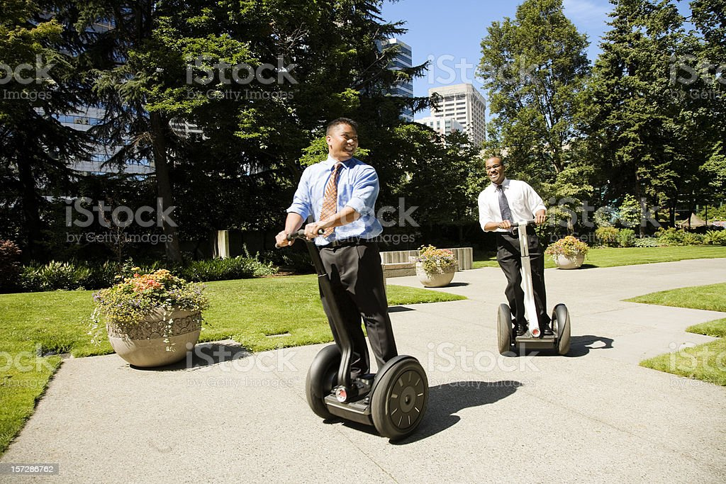 Businessmen Having Fun stock photo