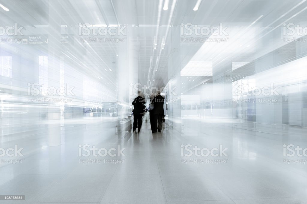 Businessmen in Contemporary royalty-free stock photo