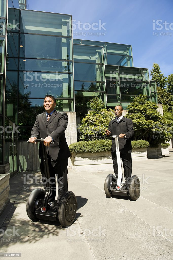 Businessmen on The Move stock photo