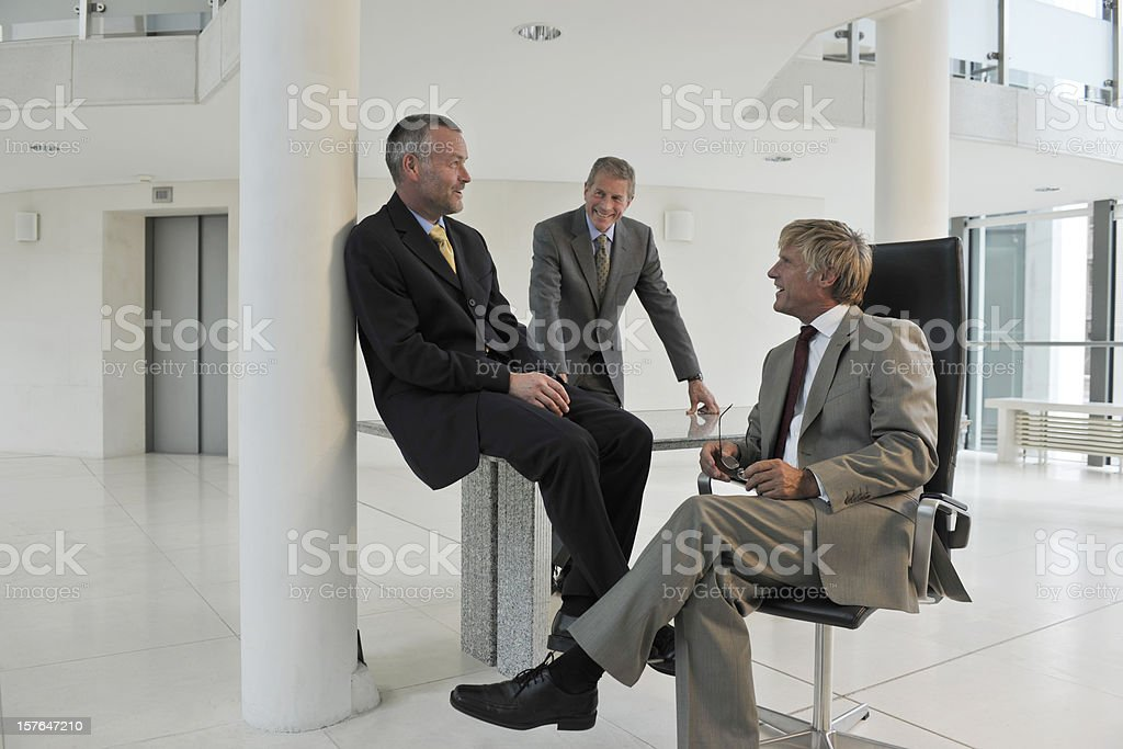 businessmen royalty-free stock photo