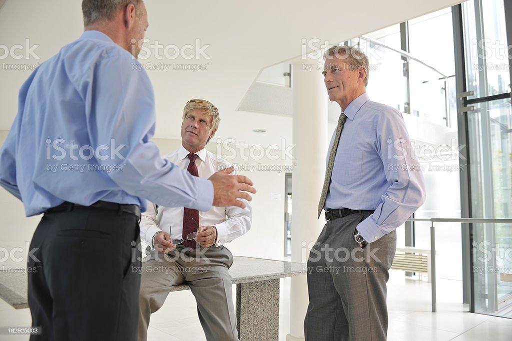 businessmen royalty-free stock photo