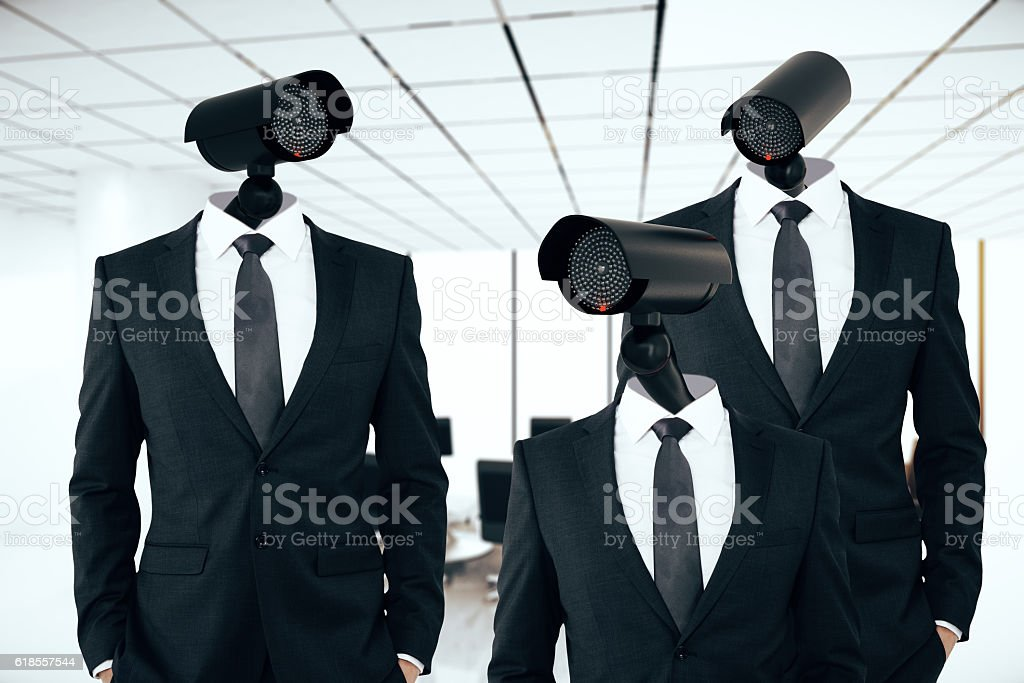 Business/organization security management stock photo