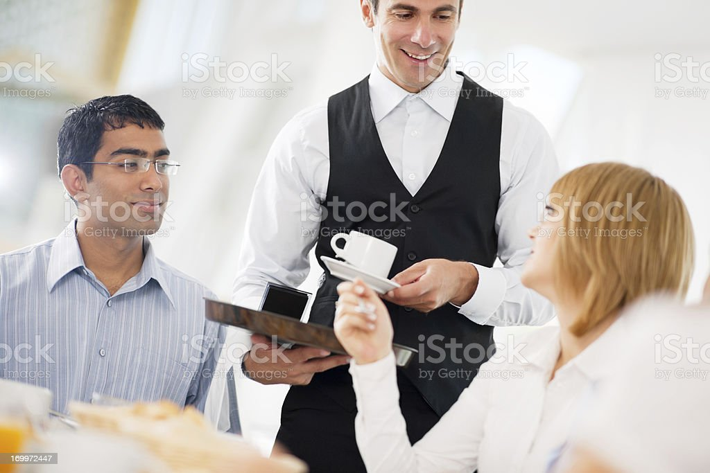 Businesspeople having a coffee break. royalty-free stock photo