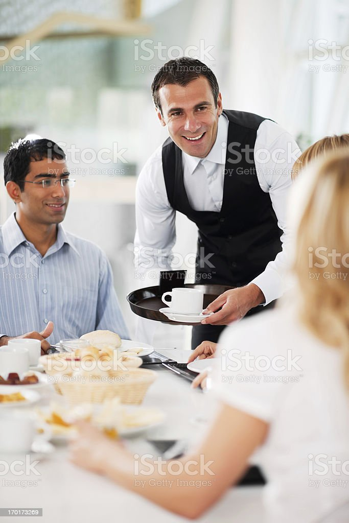 Businesspeople having a coffee break. royalty-free stock photo
