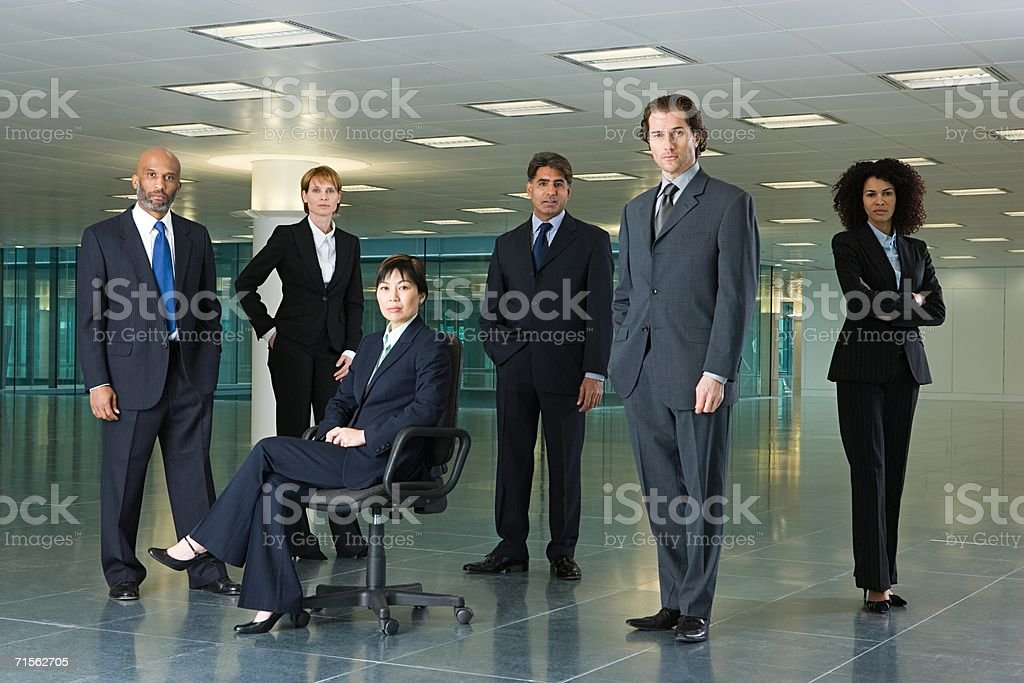 Businesspeople royalty-free stock photo