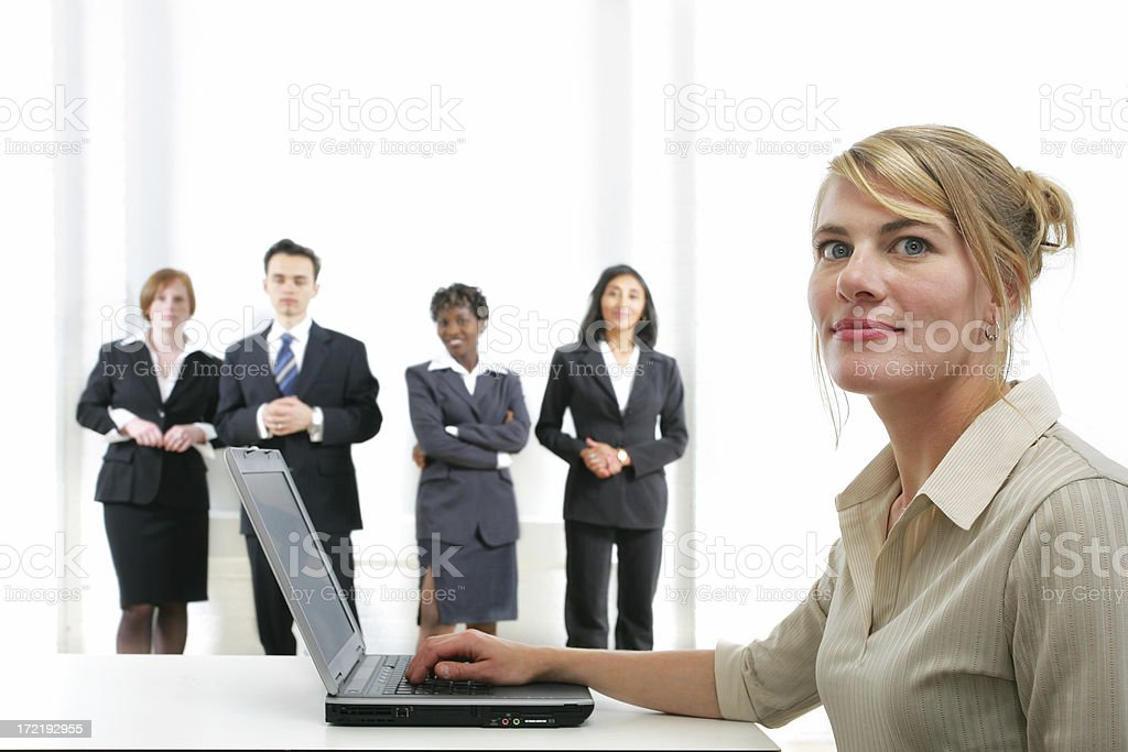 Businesspeople serie : executive I royalty-free stock photo