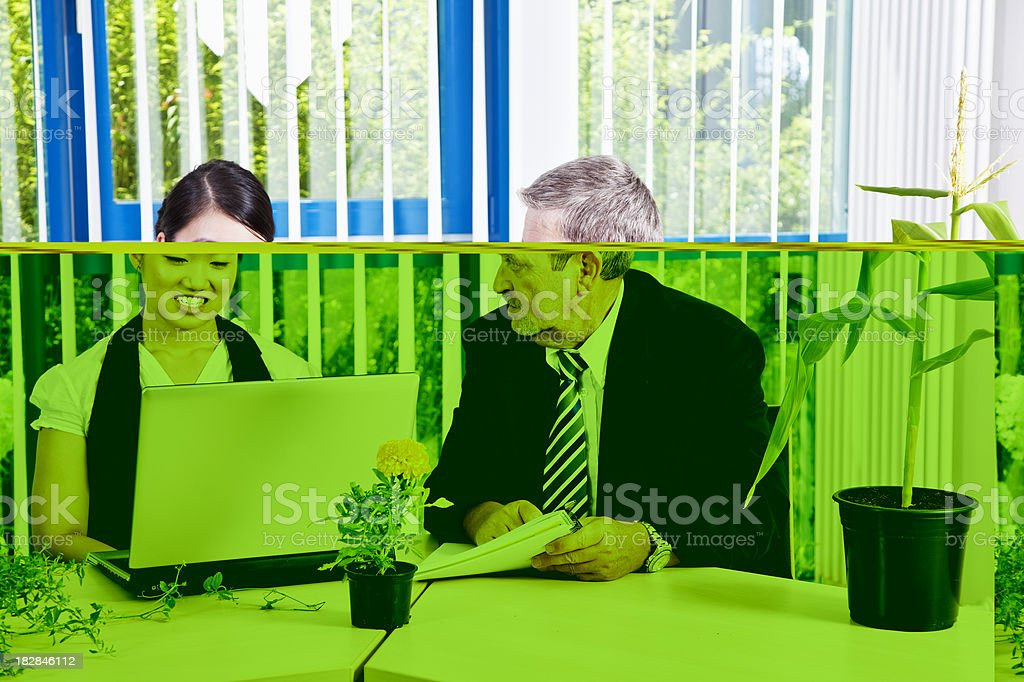 businesspeople working royalty-free stock photo