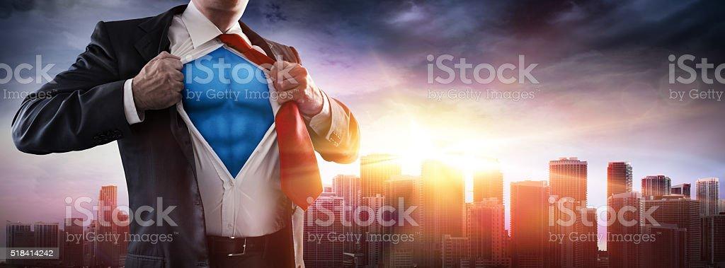 Business's Superhero stock photo