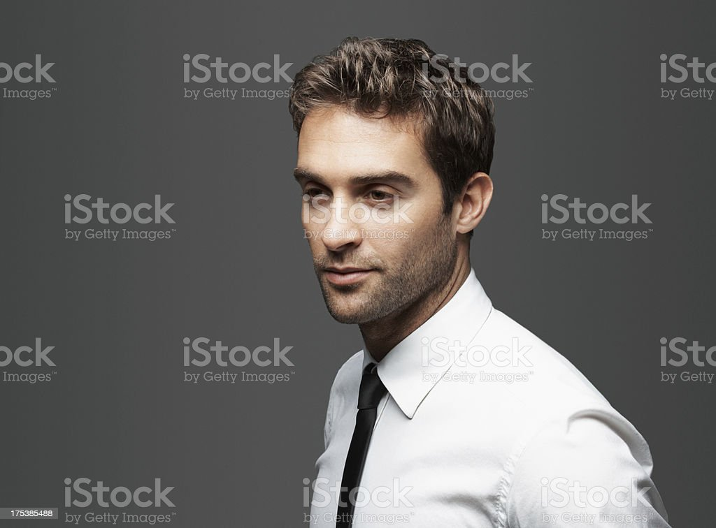 Businesss trends for the perceptive professional royalty-free stock photo