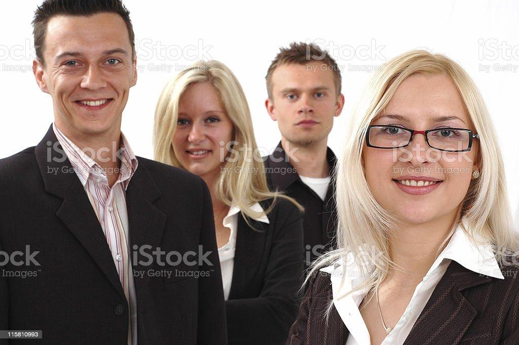 Businessteam royalty-free stock photo