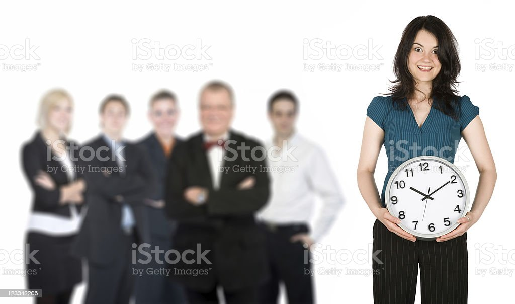Businessteam royalty-free stock photo