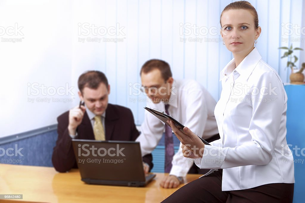 Businessteam stock photo