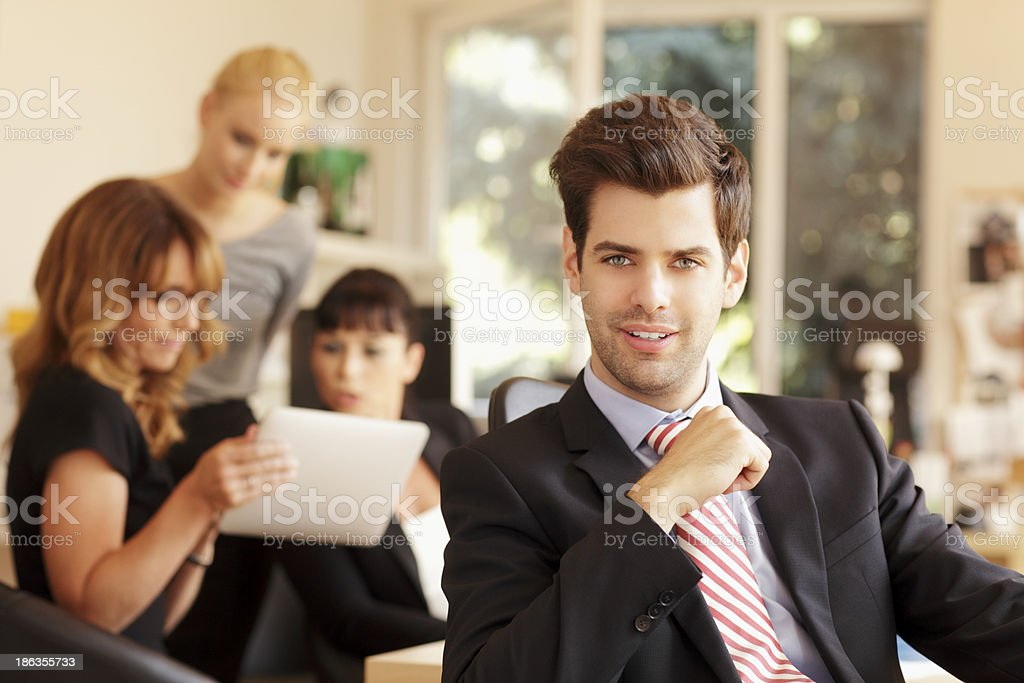 Businessteam Working royalty-free stock photo