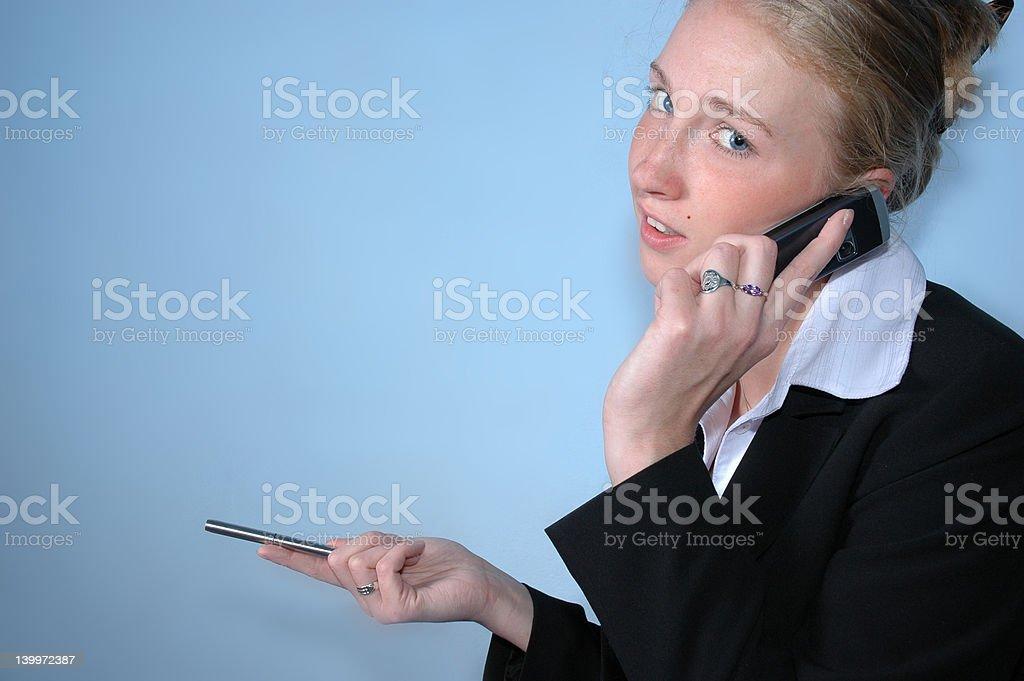 Businesswoman 4 royalty-free stock photo