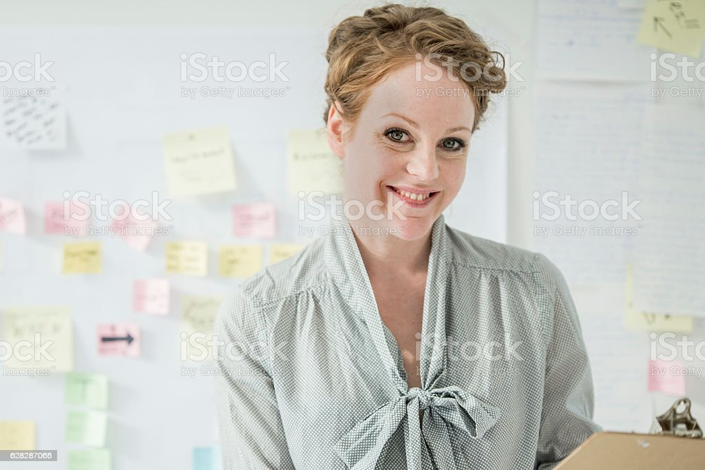 Businesswoman and Entrepreneur stock photo