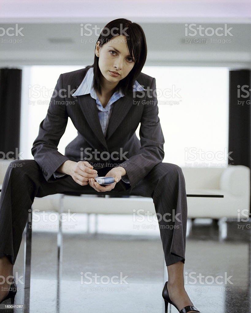 Businesswoman attitude royalty-free stock photo