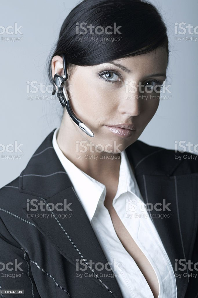 Businesswoman (Cold-Ver) royalty-free stock photo