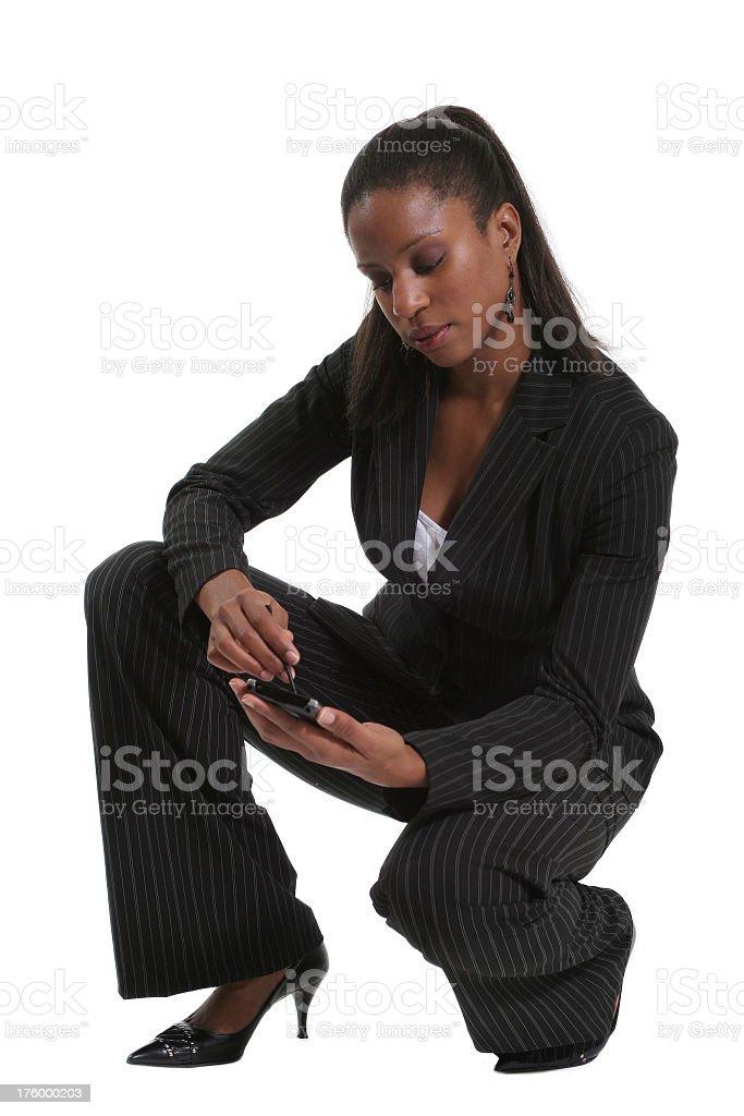 Businesswoman royalty-free stock photo