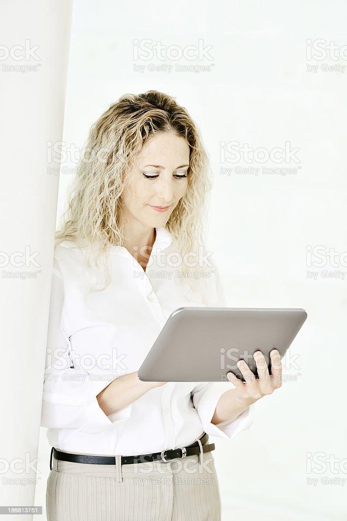 Businesswoman. royalty-free stock photo