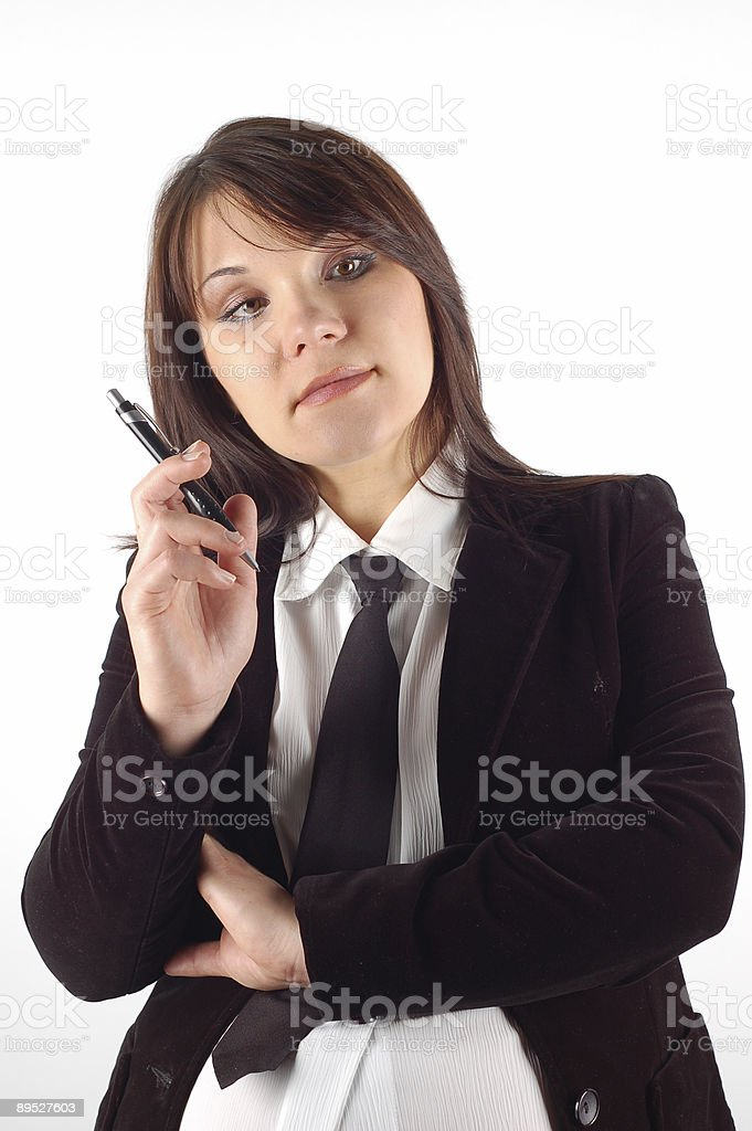 businesswoman #11 royalty-free stock photo