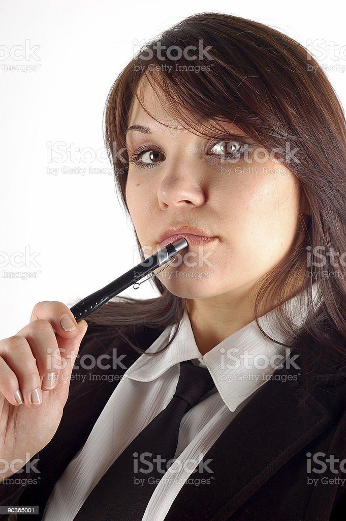 businesswoman #15 royalty-free stock photo