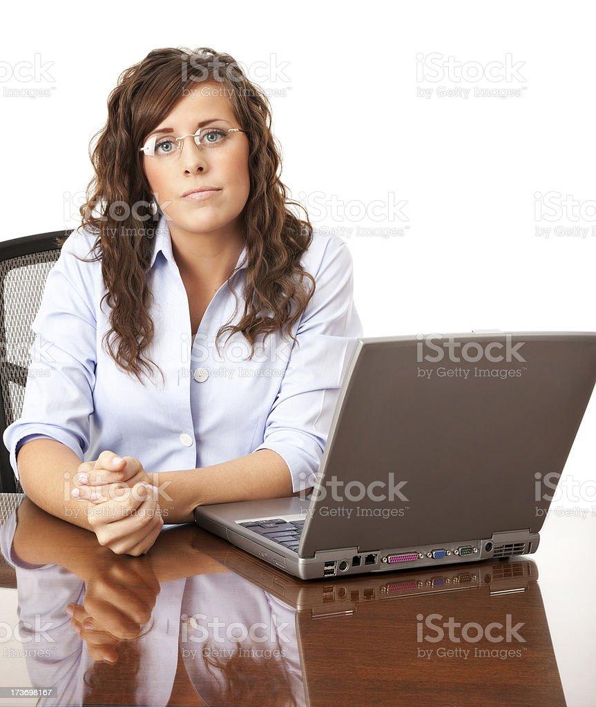 Businesswoman Portrait royalty-free stock photo